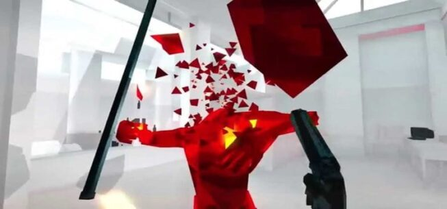 Superhot FPS game