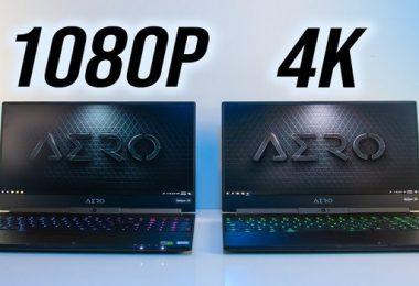 4K Vs 1080p Laptops
