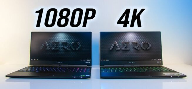4K (UHD) Vs 1080p (Full HD) Laptops: Which One Is Worth it?