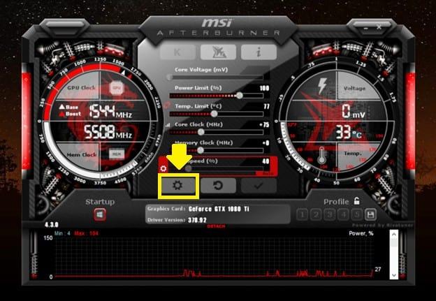 How to overclock the GPU 7